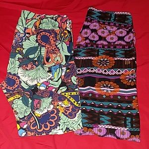 2 LuLaRoa leggings